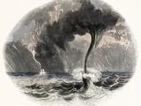 Waterspouts Reprodukcja zdjęcia autor Science Photo Library