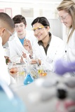 Chemistry Lesson Photographic Print by Science Photo Library