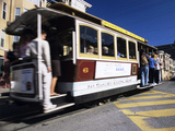 Cable Car Photographic Print by Alan Sirulnikoff