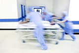 Emergency Hospital Treatment Photographic Print by Science Photo Library