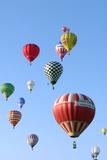 Hot Air Balloons Photographic Print by Friedrich Saurer