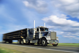 Articulated Lorry Photographic Print by Alan Sirulnikoff