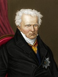 Alexander Von Humboldt, German Naturalist Prints by Maria Platt-Evans