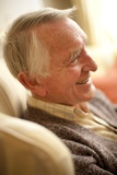 Happy Senior Man Prints by Science Photo Library