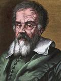 Galileo Galilei, Italian Astronomer Print by Bill Sanderson
