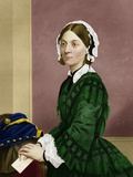 Florence Nightingale, Nursing Pioneer Premium Photographic Print by Maria Platt-Evans