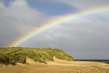 Rainbow Over Sand Dunes Prints by Duncan Shaw