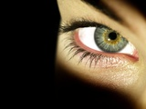 Woman's Eye Photographic Print by Science Photo Library