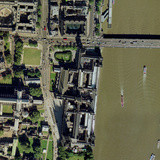 Palace of Westminster, London, Aerial Photographic Print by Getmapping Plc