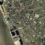 Liverpool, UK, Aerial Image Photographic Print by Getmapping Plc