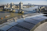 Solar Panels on City Hall, London, UK Photographic Print by Paul Rapson