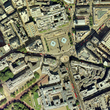 Trafalgar Square, Aerial Photograph Photographic Print by Getmapping Plc