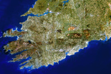 True-colour Satellite Image of Munster, Ireland Photographic Print by  PLANETOBSERVER