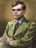 Alan Turing, British Mathematician Photographic Print by Bill Sanderson