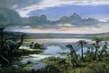 Jurassic Landscape Photographic Print by Ludek Pesek