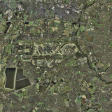 Heathrow Airport, UK, Aerial Image Photographic Print by Getmapping Plc