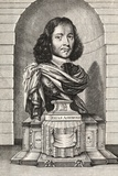 Elias Ashmole, English Antiquary Photographic Print by Middle Temple Library