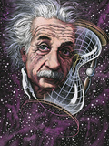 Albert Einstein, German Physicist Premium Photographic Print by Bill Sanderson