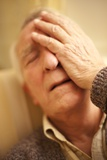 Depressed Senior Man Posters by Science Photo Library