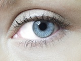 Woman's Eye Prints by Science Photo Library