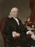 Benjamin Franklin, American Polymath Photographic Print by Maria Platt-Evans