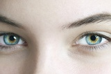 Woman's Eyes Photographic Print by Science Photo Library