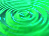 Concentric Water Ripples Photographic Print by David Mack