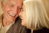 Happy Senior Couple Poster by Science Photo Library