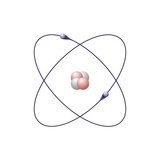 Helium, Atomic Model Premium Photographic Print by Friedrich Saurer