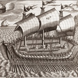 Egyptian Galleon, 17th Century Photographic Print by Middle Temple Library