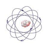 Boron, Atomic Model Fotografisk tryk af Friedrich Saurer
