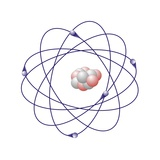 Boron, Atomic Model Premium Photographic Print by Friedrich Saurer