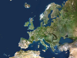 Europe, Satellite Image Photographic Print by  PLANETOBSERVER
