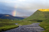 Rainbow Over River Clunie, Scotland Prints by Duncan Shaw