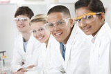 Pupils In a Science Lesson Photographic Print by Science Photo Library