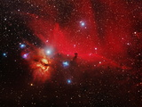 Horsehead And Flame Nebulae Photographic Print by John Sanford