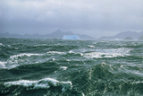 Antarctic Ocean Waves Photographic Print by Peter Scoones