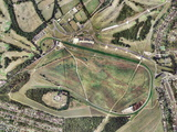 Epsom Horse Racing Track, Aerial Image Photographic Print by Getmapping Plc