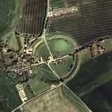 Avebury Ring Photographic Print by Getmapping Plc