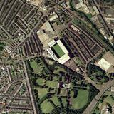Aston Villa's Villa Park Stadium, Aerial Premium Photographic Print by Getmapping Plc