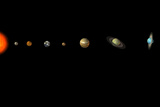 Solar System Prints by Friedrich Saurer