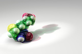 Vitamin B7, Molecular Model Poster by Phantatomix