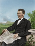 David Livingstone, Scottish Explorer Photographic Print by Maria Platt-Evans