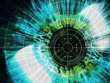 Biometric Eye Scan Premium Photographic Print by  PASIEKA