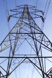 Electricity Pylon Photographic Print by Paul Rapson