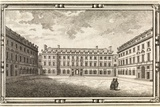 St. Bartholomew's Hospital, 18th Century Print by Middle Temple Library