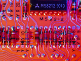 Close-up of Printed Circuit Board Photographic Print by  PASIEKA