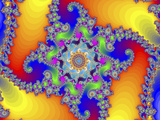 Mandelbrot Fractal Photo by Friedrich Saurer