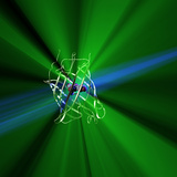 Green Fluorescent Protein Photographic Print by  Phantatomix