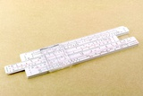 Logarithmic Slide Rule Photographic Print by Friedrich Saurer